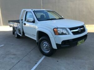 2011 Holden Colorado RC MY11 LX Cab Chassis Single Cab 2dr Auto 4sp 4x2 1353kg 3. White Automatic Villawood Bankstown Area Preview