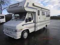 1994 2.5L TURBO DIESEL COMPASS DRIFTER 404 4 BERTH MOTORHOME WITH U SHAPED LOUNGE ANDERSON MOTORHOME