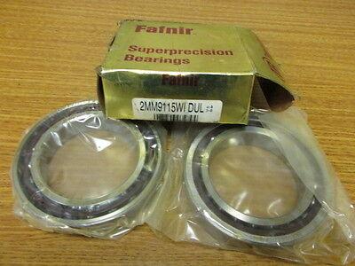 New Fafnir Bearing 2mm9115wi Dul