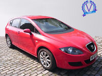 SEAT LEON 1.9 TDI Reference 5dr (red) 2005