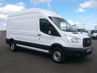 Ford Transit T350 LWB HIGH ROOF L3 H3 VAN 125PS DIESEL MANUAL WHITE (2015)
