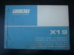 FIAT-X-1-9-CATALOGO-PARTI-DI-RICAMBIO-ORIGINALE-USATO-NO-COPY