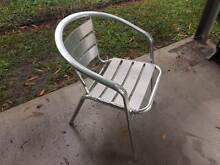 Aluminum chairs, outdoor Arundel Gold Coast City Preview