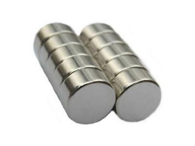 Emovendo Neodymium Rare Earth Magnets 12 X 14 Disc N48 10pieces In Total