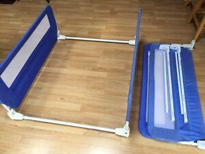 Fold-down Bedrails - Barriere piante pour Lit