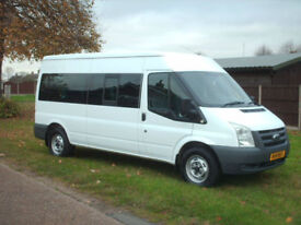 Ford TRANSIT 100 LWB 13 seat minibus DIRECT MOD choice available
