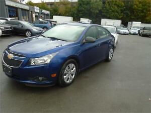 2013 Chevrolet Cruze LS 95KM CERTIFIED-WARRANTY