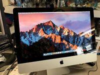 """Apple iMac 21.5"""" Intel Dual Core 3Ghz, 4gb RAM & 500gb HDD Latest OSX Sierra £299.99"""