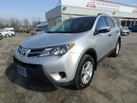 2013 Toyota RAV4 LE WITH BACK UP CAMERA