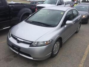 2008 Honda Civic Hybrid/LOW KM'S/CLEAN TITLE/FRESH SAFETY!
