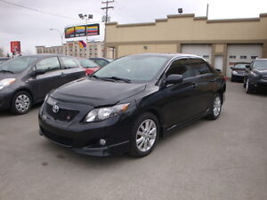 toyota corolla type s 2010 cuir toit mag kitjupe siegeschauff laval north shore greater. Black Bedroom Furniture Sets. Home Design Ideas