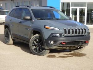 2015 Jeep Cherokee Local, 4WD Htd. Leather