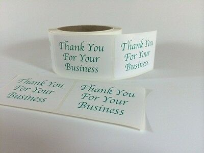 250 Thank You Sticker Label 2x 3 Green Thank You Sticker Label Fragile New