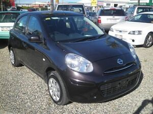 2014 Nissan Micra K13 MY13 ST Black 5 Speed Manual Hatchback Strathpine Pine Rivers Area Preview