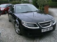 2008 SAAB 9-5 1.9 TDI TURBO EDITION BLACK 109K 12 MONTH M.O.T.