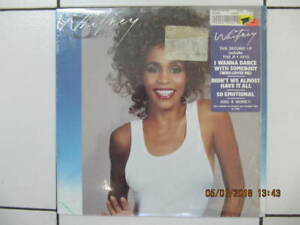 Classic Whitney Houston 2nd LP On Vinyl Like New Circa 1987