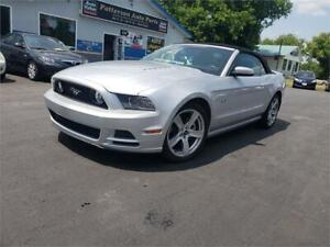 2014 Ford Mustang GT 5.0L convertible 60k auto we finance