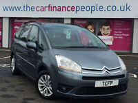 Citroen Grand C4 Picasso 1.8i VTR+ *GOOD/BAD CREDIT CAR FINANCE * FROM £20 PW*