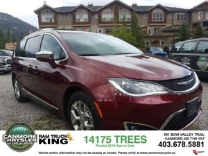 2017 Chrysler Pacifica Limited Leather sunroof vacuum tow packag