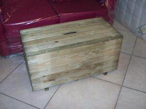 Baule cassa per legna contenitore coperchio cassapanca for Cassapanca legno grezzo