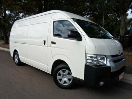 2014 Toyota Hiace KDH221R MY14 SLWB White 4 Speed Automatic Van Canada Bay Canada Bay Area Preview