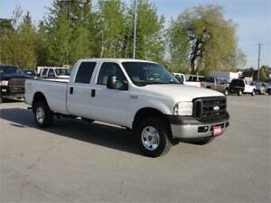 2006 FORD F-350 SUPER DUTY XL CREW CAB LONG BOX 4X4 1 TON
