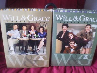 Will  Grace   Season 1  Dvd  2003  4 Disc Set