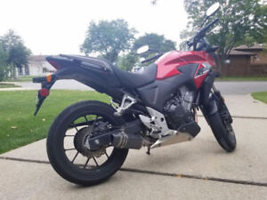 2013 Honda CB500X ABS for sale or trade