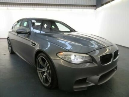 2013 BMW M5 F10 MY12 Space Grey 7 Speed Auto Direct Shift Sedan