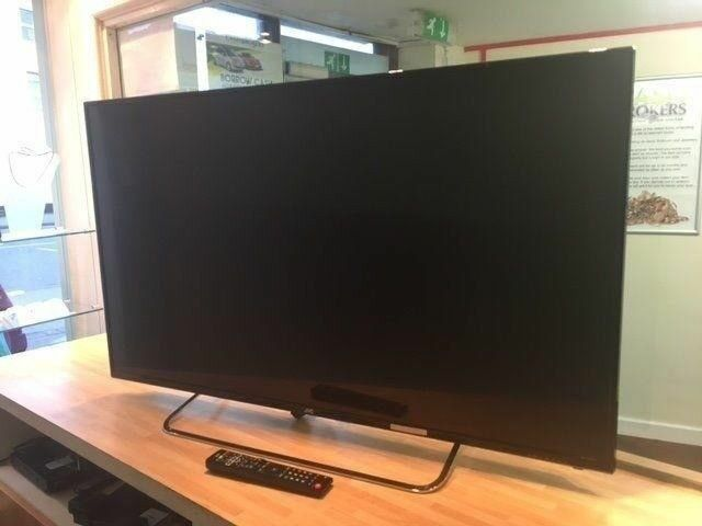 New, JVC LT-55C550 55' LED smart tv less than 6 months old