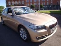 62 BMW 520D EFFICIENTDYNAMICS DIESEL £30 A YEAR ROAD TAX *LEATHER*