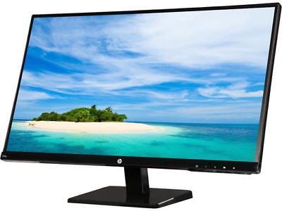 HP 27sv Black 27�? IPS 7ms (GTG) Frameless LCD/LED Monitor, 250 cd/m2 DCR 10,...