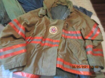 Morning Pride Firefighter Bunker Turnout Gear Coatjacket 911 Iaf Patches