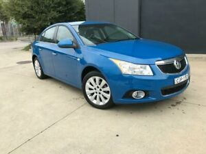2012 Holden Cruze JH Series II CDX Sedan 4dr Spts Auto 6sp 1.8i [MY12] Blue Sports Automatic Sedan Villawood Bankstown Area Preview
