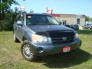 2003 Toyota Highlander Only 173km Accident & Rust Free