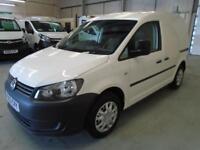Volkswagen Caddy 1.6TDI 75PS VAN EURO 5 DIESEL MANUAL WHITE (2013)