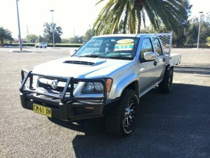 2008 Holden Colorado RC LX Silver Manual Utility Cabramatta Fairfield Area Preview