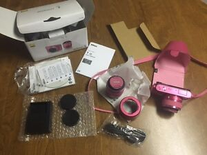 Nikon J2 10.1- Camera w/ 10-30mm & 30-110mm Lenses - Pink