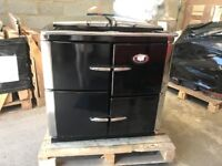 Rayburn XT cook only Nat Gas Black