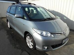 2009 Toyota Tarago GSR50R GLX V6 Silver 6 Speed Automatic Wagon South Burnie Burnie Area Preview
