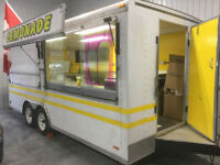 Concession trailer Ready to Roll. Your menu!