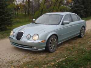 2000 Jaguar S-Type with fresh safety & clean title