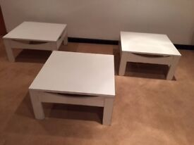 1 MDF TABLE WITH MELAMINE, BARGAIN ONLY £5