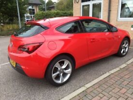 FOR SALE - Vauxhall Astra GTC SRi 1.4, excellent condition, 37000 miles, full service history