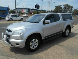 2015 Holden Colorado RG MY15 LTZ Space Cab Silver 6 Speed Sports Automatic Utility