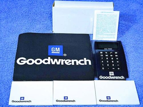 1980-2000 GM Goodwrench Kit NOS