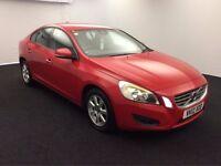 2012 VOLVO S60 2.0 163 BHP DIESEL AUTO SALOON EXCELLENT DRIVE MOT UBER RED NO INSIGNIA PASSAT MONDEO