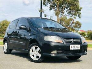 2006 Holden Barina TK Black Manual Hatchback