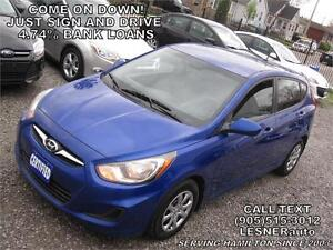 $3000 DOWN, $134 for 60 months! SALE$8980 -2013 HYUNDAI ACCENT