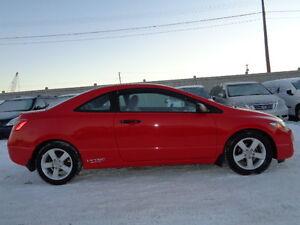 2009 Honda Civic EX SPORT PKG Coupe (2 door)-AMAZING SHAPE--129K Edmonton Edmonton Area image 2